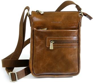 Chiarugi Genuine Leather Men's Crossbody Bag