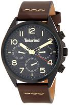 Timberland Men&s Bartlett II Leather Watch