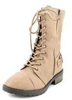 White Mountain Fiord Round Toe Synthetic Mid Calf Boot.