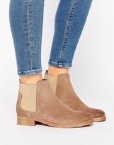 Vero Moda Nubuck Leather Chelsea Boot