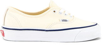 Vans OG Authentic LX in Classic White | FWRD