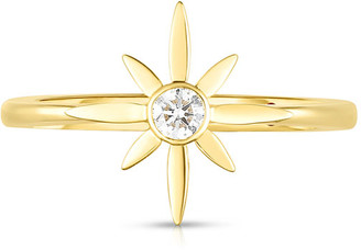 Roberto Coin x Disney Cinderella Diamond Star Engagement Ring, Size 6.5
