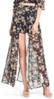 Leith Women's Floral Print Shorts