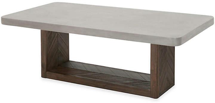 One Kings Lane Apex Coffee Table - Slate Gray