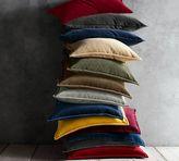 Pottery Barn Washed Velvet Pillow Cover
