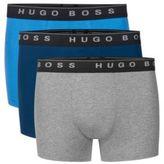 Hugo Boss Boxer 3P US SP Cotton Trunks, 3-Pack L Patterned