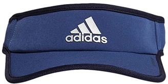 adidas Superlite Performance Visor (Tech Indigo Blue/Legend Ink Blue/Silver) Caps