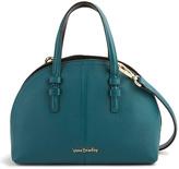 Vera Bradley Forest Green & Black Diana Leather Crossbody Bag