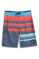 O'Neill Boy's Lennox Stripe Board Shorts