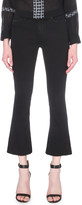 Paige Colette cropped flared high-rise jeans
