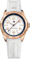 Tommy Hilfiger Women's Everyday Sport White Silicone Strap Watch 34mm 1781636