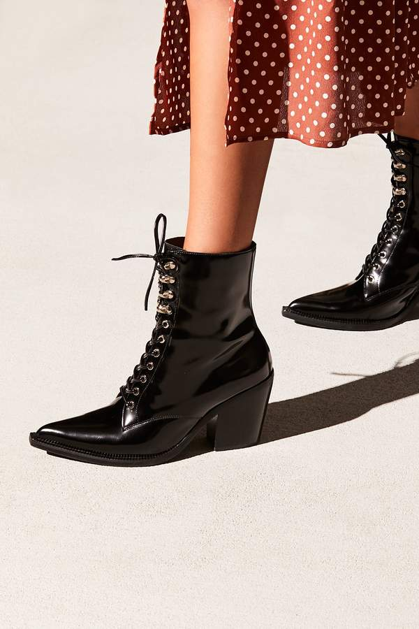 Jeffrey Campbell Desperado Lace-Up Boot