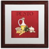 Trademark Fine Art 'Italian Cuisine II' Matted Framed Canvas Art by Marco Fabiano