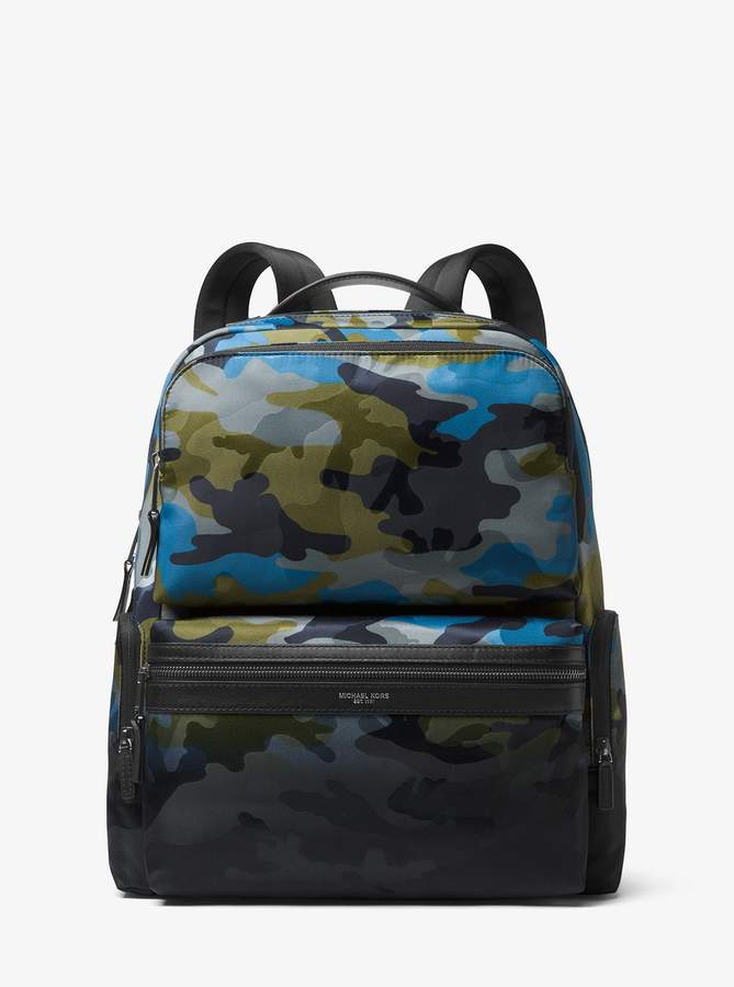 Michael Kors Kent Camouflage Cargo Backpack