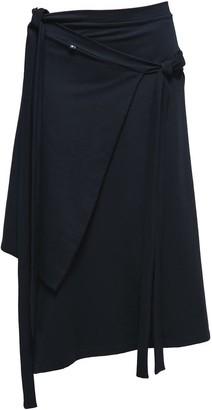 Non+ Non393 Black Tied Skirt