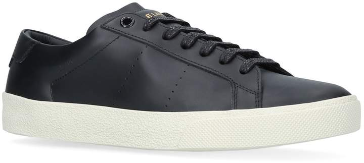 Saint Laurent Leather Court Classic Sneakers