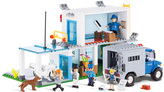 Police Department Construction Toy Set