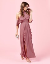 TFNC Ruffle Maxi Dress