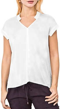 Go by Go Silk Mixed-Texture Tee