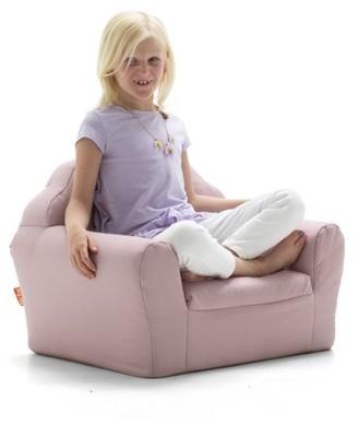 Big Joe Kid's Pink Art Deco Chair