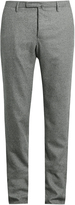 Incotex Super 100 micro hound's-tooth trousers