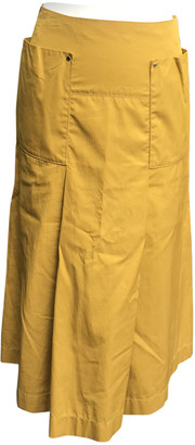 Hermes Gold Cotton Skirts