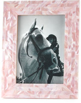 """The Jws Collections Mother-of-Pearl Frame, 5"""" x 7"""""""