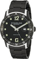 Stuhrling Original Men's 421.335B1 Octane Concorso Trofeo Swiss Quartz Date Bracelet Watch