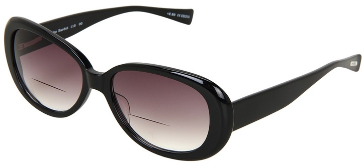 Eyebobs Bardot Bifocal Sunreader (Black Sunreader) - Eyewear