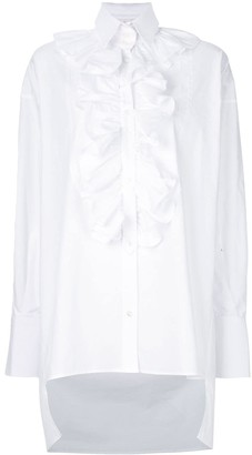 Faith Connexion Ruffle Detail Shirt