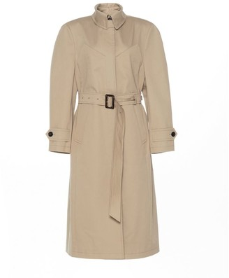 pushBUTTON Belted Bustier Trench Coat