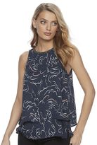 Juicy Couture Women's Print Layered Tank