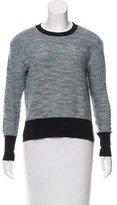 Derek Lam 10 Crosby Textured Knit Long Sleeve Sweater