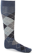 Daniel Cremieux Argyle Over-the-Calf Dress Socks