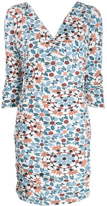 Roberto Cavalli All-Over Print Dress
