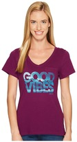Life is Good Wave Pocket Vibe Tee Women's T Shirt