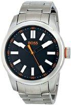 HUGO BOSS BOSS Orange Men's 1512990 Paris Analog Display Quartz Silver Watch