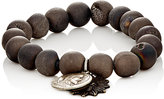 Miracle Icons Men's Druzy Agate Bead & Charm Bracelet