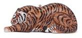 Judith Leiber 'Shere Khan Tiger' crystal pavé minaudière