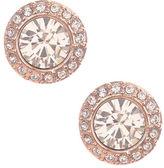 Givenchy Rose Goldtone and Swarovski Crystal Stud Earrings