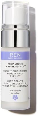 Ren Skincare Ren Keep Young And Beautiful Instant Brightening Beauty Shot Eye Lift 15Ml