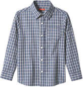 Joe Fresh Kid Boys' Plaid Shirt, Green (Size S)