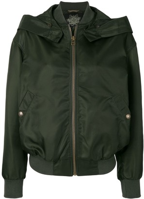 Mr & Mrs Italy Hooded Bomber Jacket