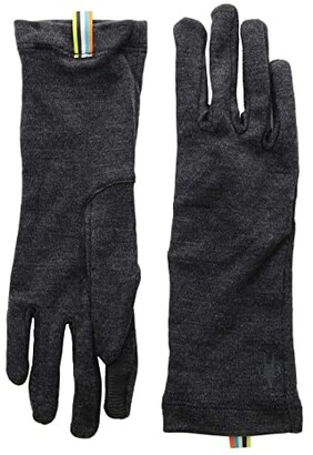 Smartwool Merino 250 Gloves (Charcoal Heather) Extreme Cold Weather Gloves