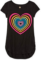 Total Girl Short-Sleeve Graphic Tunic - Girls 7-16 and Plus