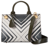 Anya Hindmarch Ephson Diamonds Mini Leather Satchel