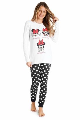 Disney Minnie Mouse Long Pyjama for Ladies (L)