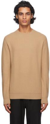 Ermenegildo Zegna Tan Cashmere Sweater