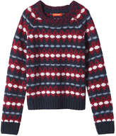Joe Fresh Kid Girls' Nordic Sweater, Red (Size M)