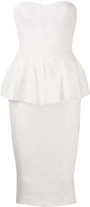 Philosophy di Lorenzo Serafini Peplum Waist Dress